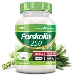 bottle of forskolin